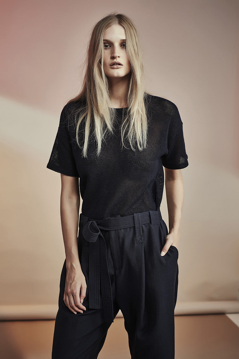 NZ Fashion gregorythelabel SS16/17 Casual Pant Silk Cotton Luxe
