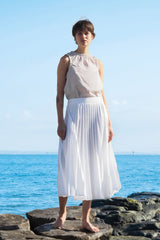 Crow Skirt White