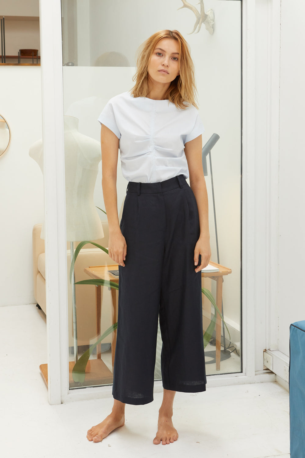 NZ Fashion Clothing Boutique gregorythelabel Gregory SS18  Carlo Pant Made in NZ
