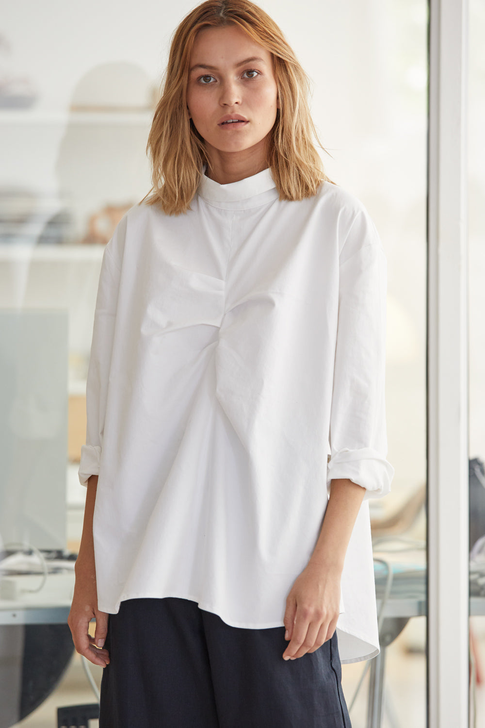 NZ Fashion Clothing Boutique gregorythelabel Gregory SS18 Clara Top Made in NZ