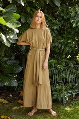 NZ Fashion Clothing Boutique gregorythelabel Gregory SS18 Gema Jumpsuit Made in NZ