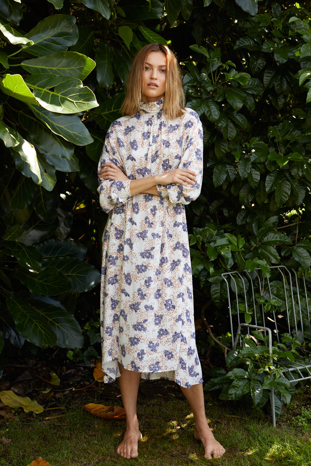 NZ Fashion Clothing Boutique gregorythelabel Gregory SS18 La Paz Dress Made in NZ