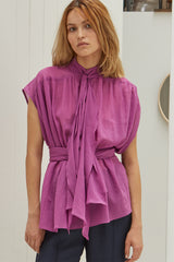 NZ Fashion Clothing Boutique gregorythelabel Gregory SS18 Rosa Top Made in NZ