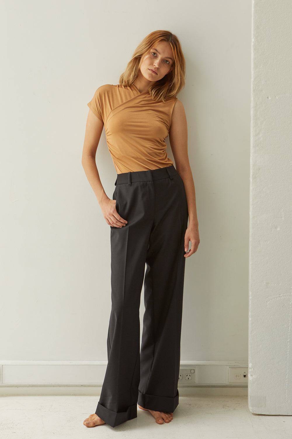 NZ Fashion Clothing Boutique gregorythelabel Gregory SS18 Mateo Pant Made in NZ