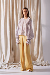 NZ Fashion Clothing Boutique gregorythelabel Gregory SS19 Mattie Pant Honey Made in NZ