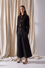 NZ Fashion Clothing Boutique gregorythelabel Gregory SS19 Mabel Pant Black Made in NZ
