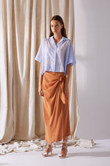 NZ Fashion Clothing Boutique gregorythelabel Gregory SS19 Vivi Skirt Made in NZ
