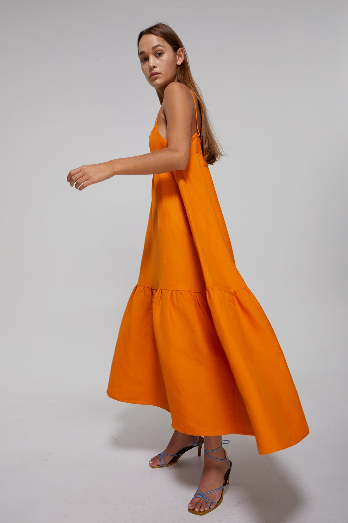 Ghini Dress Gregory SS20 Collection NZ Sustainable Fashion Design