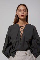 Lauretta Top Gregory SS20 Collection NZ Sustainable Fashion Design