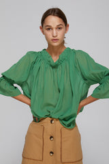 Gregory SS20  Peddle Top Basil Made in NZ