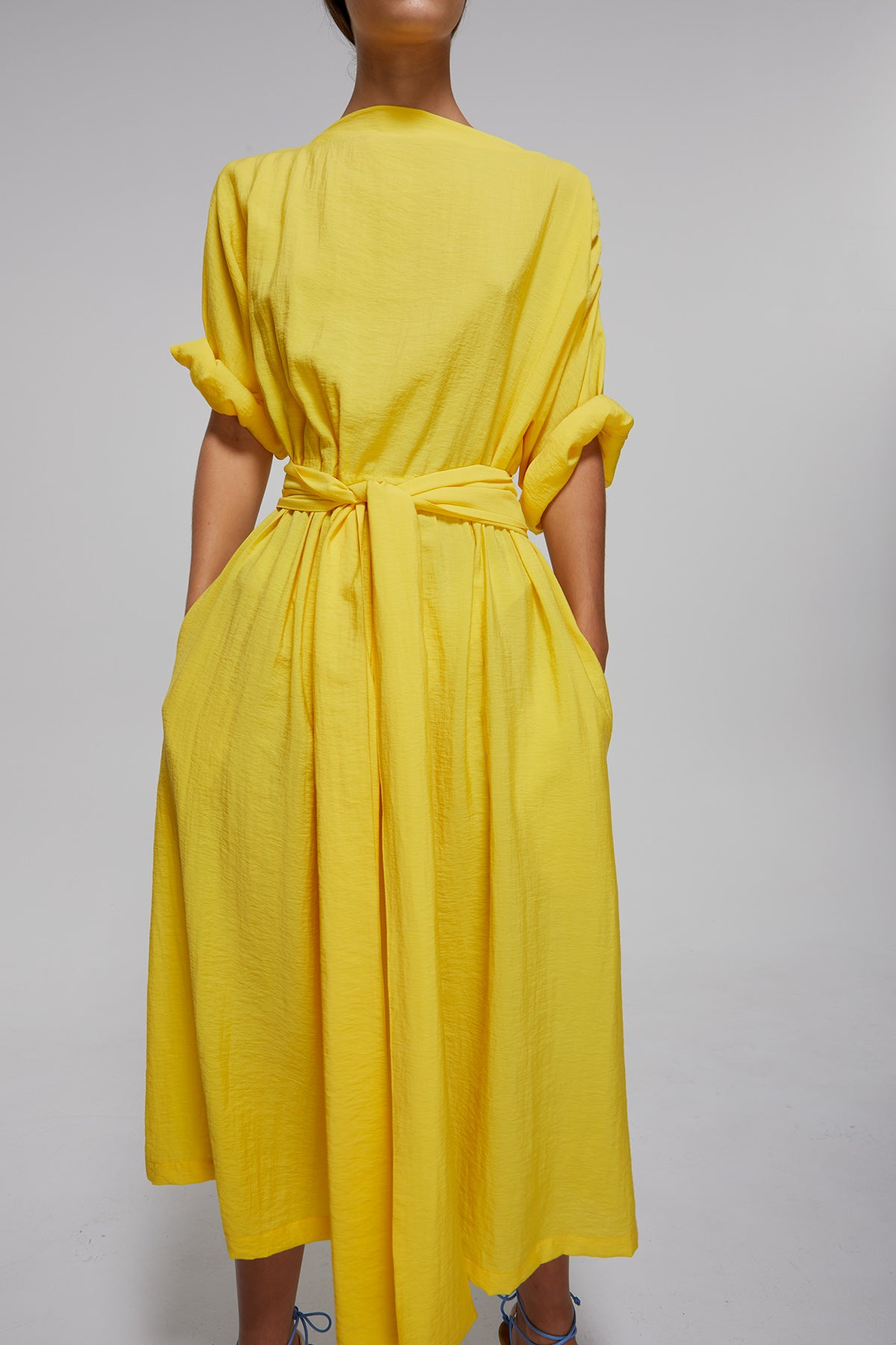 Omar Dress Gregory SS20 Collection NZ Sustainable Fashion Design