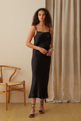 NZ Fashion Clothing Boutique gregorythelabel Gregory AW20 Made in NZ Hartwig Slip Dress DD10502