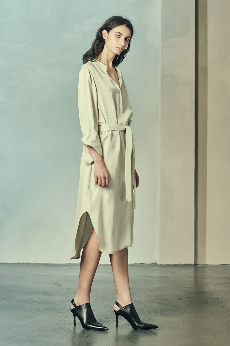 Herford Dress Sandwashed Silk