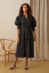 NZ Fashion Clothing Boutique gregorythelabel Gregory AW20 Made in NZ Lyonel Dress DD10437