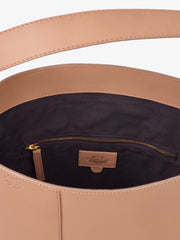 ATP Atelier Pienza Almond Vacchetta Leather Bag