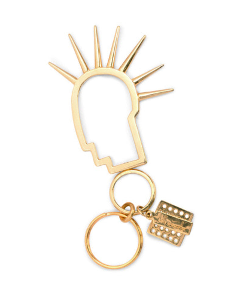 Kelly Wearstler Mini Headtrip Keychain