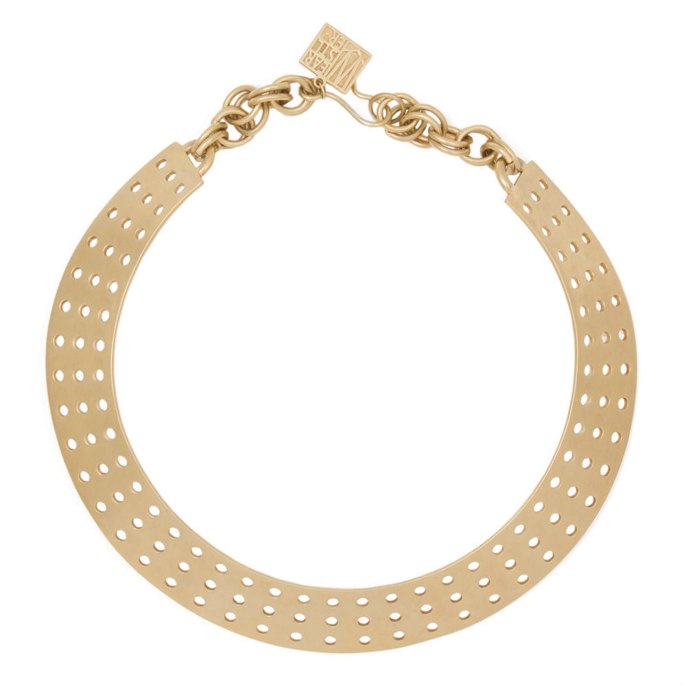 Kelly Wearstler Perforated Collar Necklace