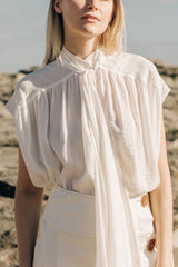 Rosa Top Ivory