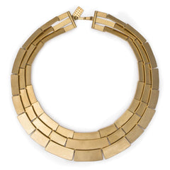 Kelly Wearstler Medina 3 Row Necklace