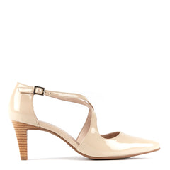 Marnee in Pale Blush Patent