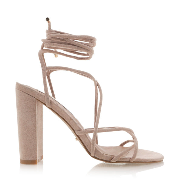 Lula in Blush Suede