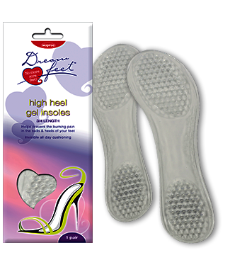 Dream feet high heel gel insole