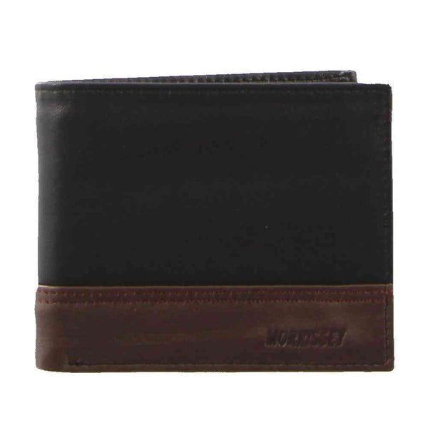 Morrissey Black/Brown Wallet