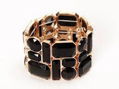 Cosmic Pieces Bracelet Black