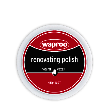 Waproo Renovating Polish in Brown