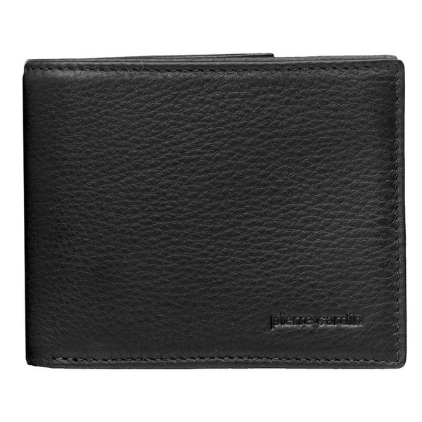 Pierre Cardin Leather Wallet in Black