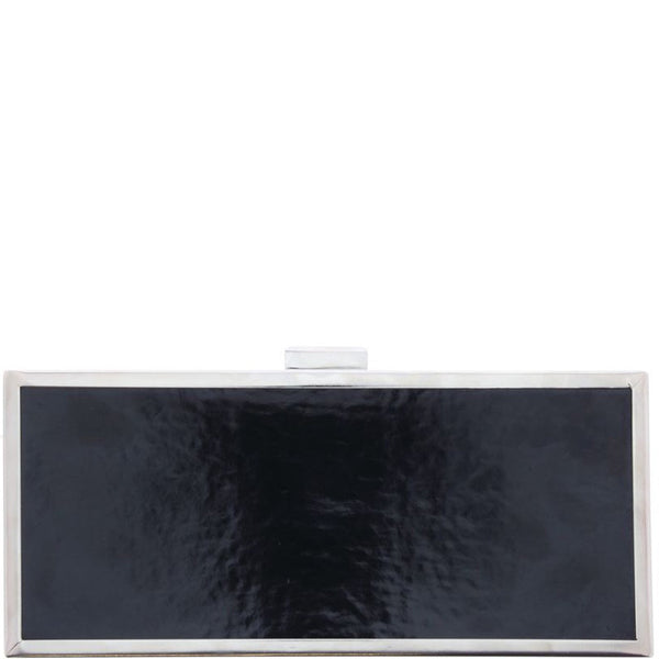Portia metal frame clutch