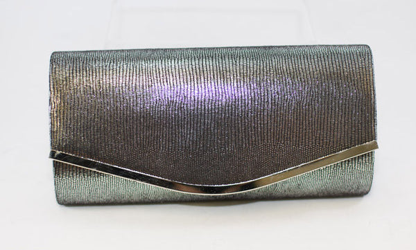 Giselle clutch metalic