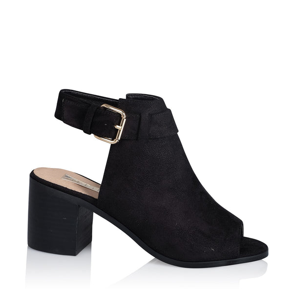 Willa in Black Suede