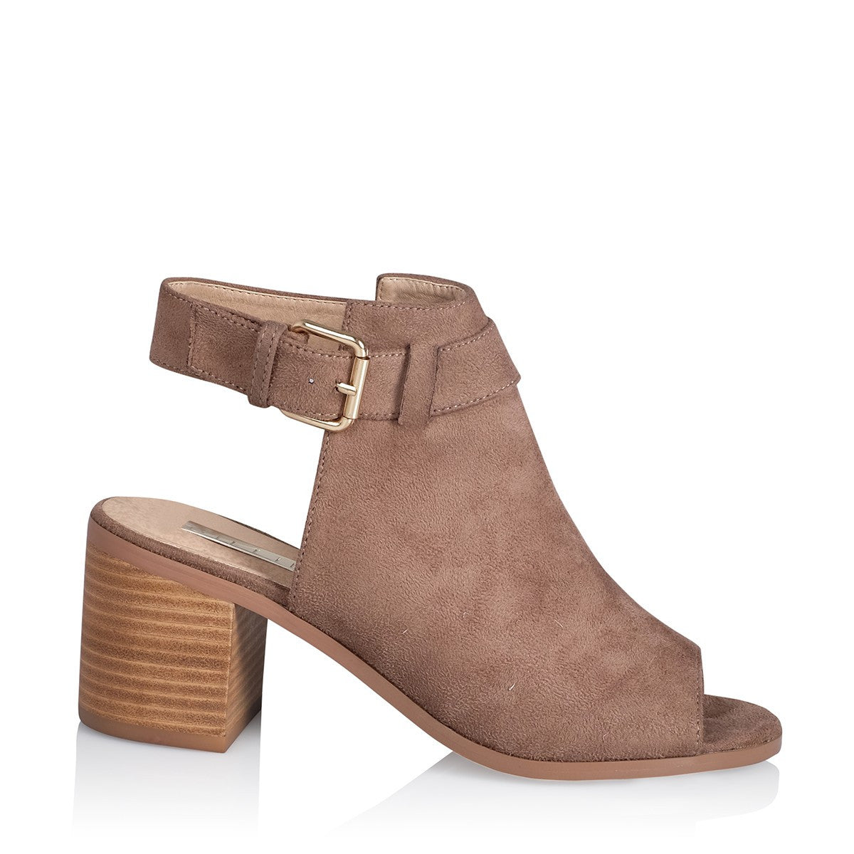 Willa in Taupe Suede
