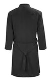 Washable Faux Suede Lightweight Coat - Black