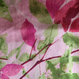 **NEW** 'Watercolour Leaves' Pure Silk Scarf