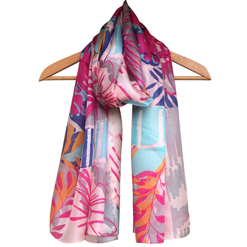 **NEW** 'Gershwin' Pure Silk Scarf