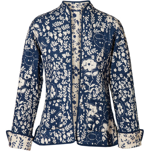 Reversible 'Hampton' Cotton Jacket - Original Blue