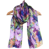 'Magic Garden' Pure Silk Scarf