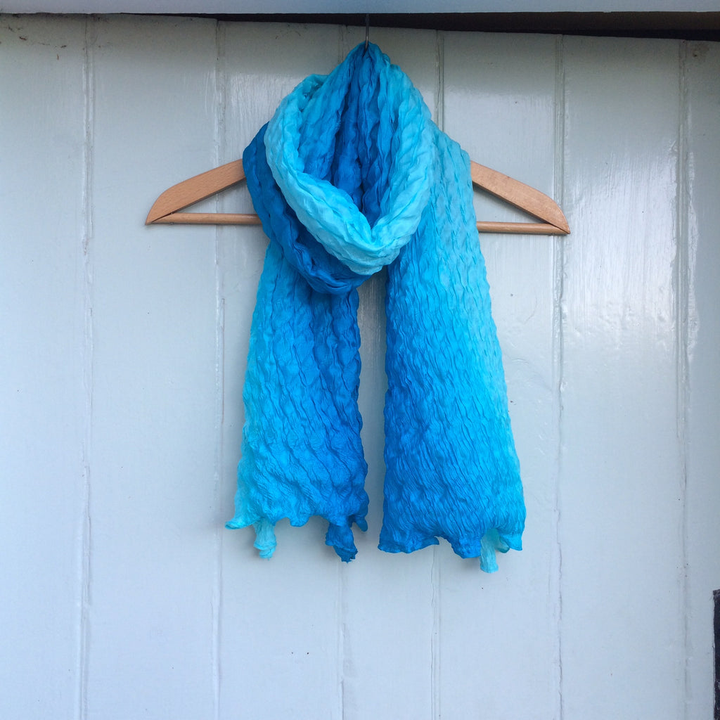 Pure Silk Crinkle Scarf