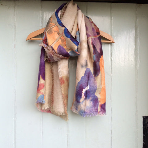 Wool Mix Blanket Scarf