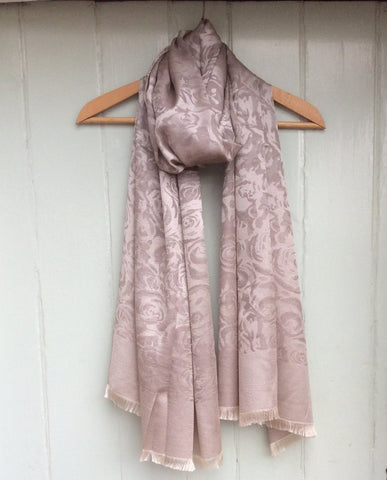 Silk Mix 'Rose' Scarf