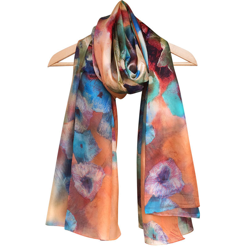 'Purcell' Pure Silk Scarf