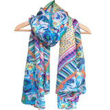 'Retro' Pure Silk Scarf
