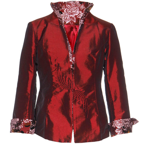 Washable Jacket - Claret