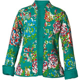 Reversible 'Secret Garden' Cotton Jacket