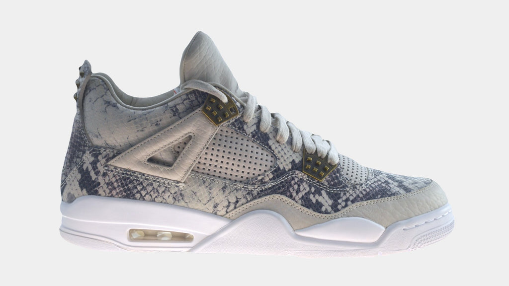 "Nike Air Jordan 4 Retro Premium Pinnacle ""Snakeskin""-Sneakers-Nike-Circle of Trust"
