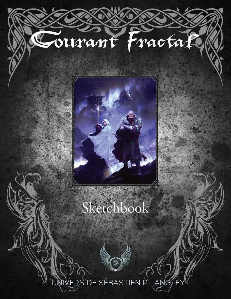 Courant Fractal : sketchbook