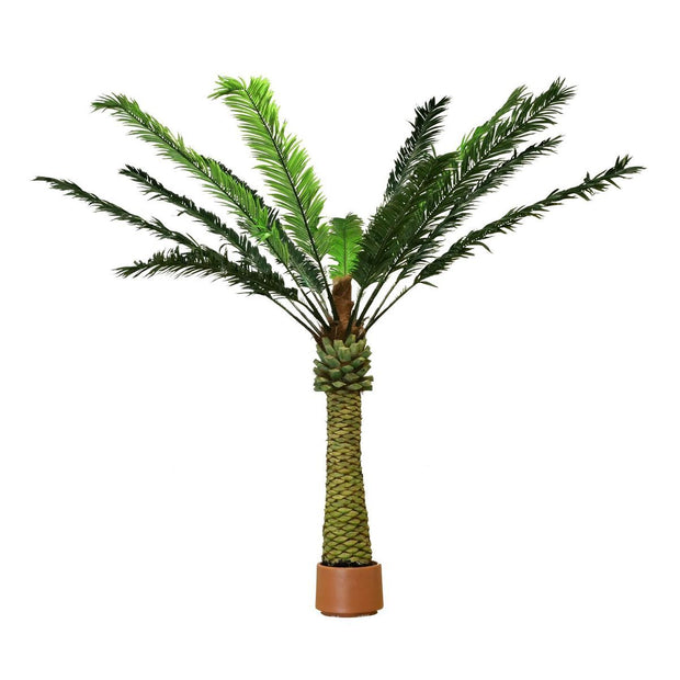 Large Faux Palm Tree in Pot