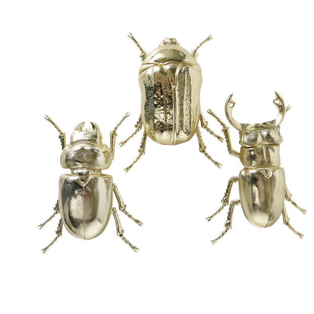 Gold Beetle Wall Art